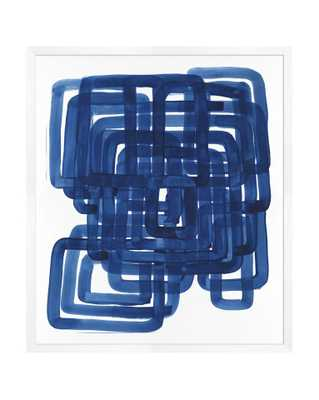 BLUE NAUTICAL Framed Art - McGee & Co.