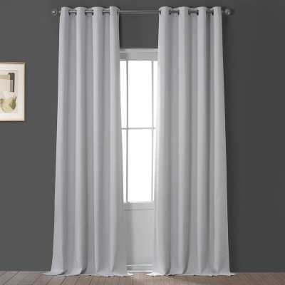 Oneridge Solid Blackout Grommet Single Curtain Panel - Wayfair
