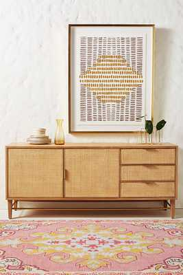 Wallace Cane and Oak Sideboard - Anthropologie