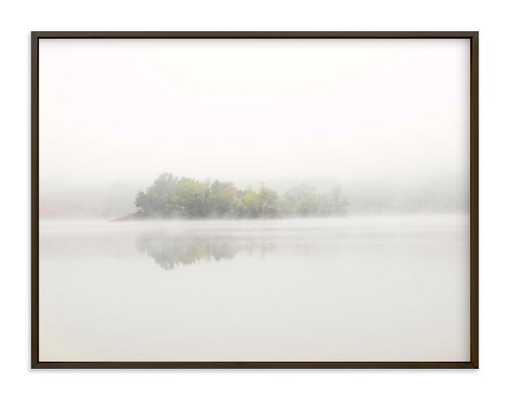 The Island - 24 x 18, Matte Black Frame - Minted