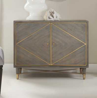 Melange Breck 2 Door Accent Chest - Wayfair