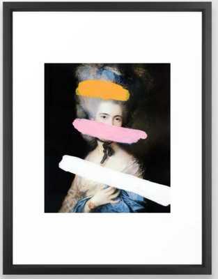 Brutalized Gainsborough 2 Framed Art Print - Society6