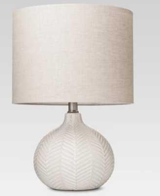 Textured Ceramic Accent Lamp Cream - Threshold™ - Target