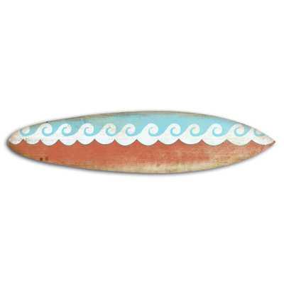 Surf on Surfboard Wall Décor - Wayfair