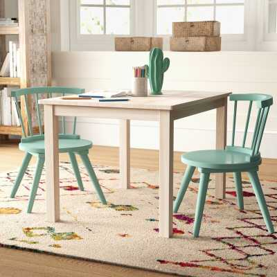 Severus Wood Kids' Writing Table - Wayfair