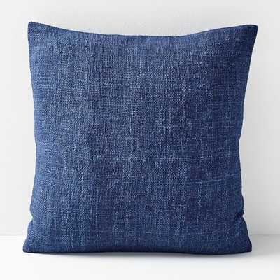 "Silk Handloomed Pillow Cover, 20""x20"", Nightshade - West Elm"