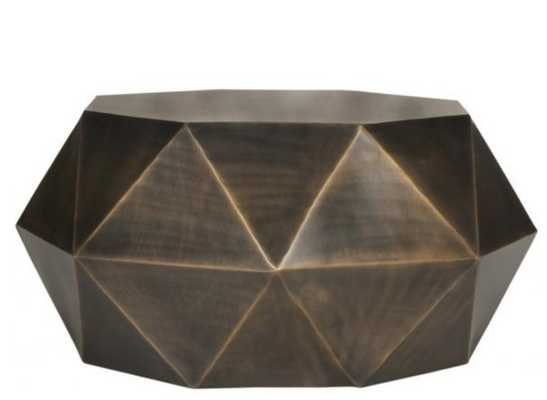 ASTRID FACETED COFFEE TABLE - Arlo Home