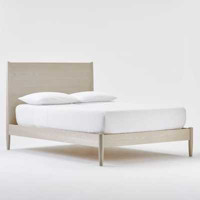 Mid-Century Bed, Pebble, Queen - West Elm