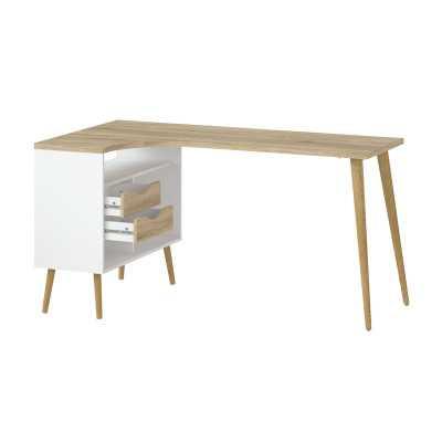 Dowler L-Shape Desk - Wayfair