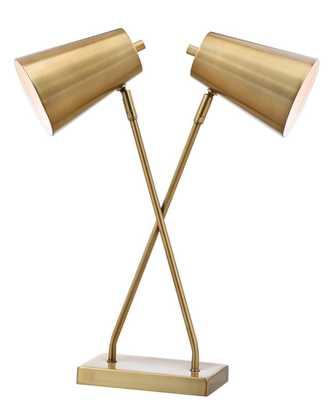 Kera Table Lamp - Gold - Arlo Home - Arlo Home