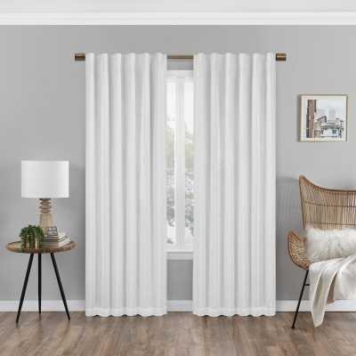 Cory Max Blackout Rod Pocket Single Curtain Panel - Wayfair