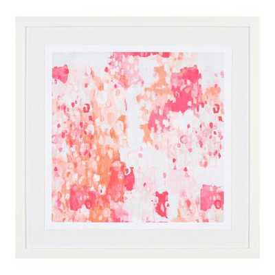 Pink and Coral Abstract Art - Caitlin Wilson