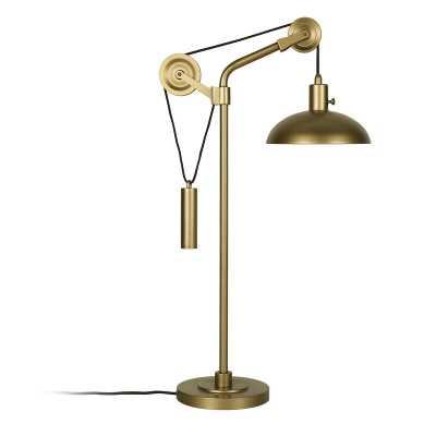 "Rosalee 34"" Desk Lamp - Wayfair"