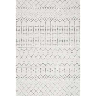 Olga Gray Area Rug, 8' x 10' - Wayfair