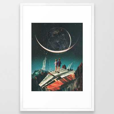 It will be a whole new world Framed Art Print by Frank Moth - Society6