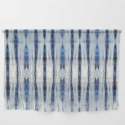 "Nori Blue Wall Hanging - Large 47"" X 32 1/4"" - Society6"