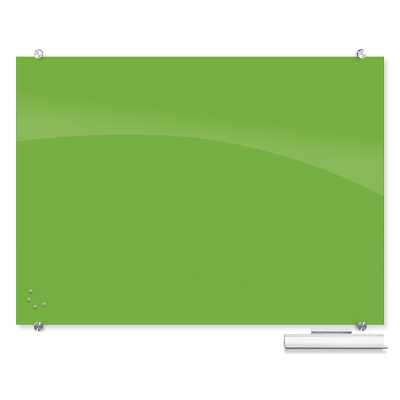 Best-Rite® Visionary Wall Mounted Magnetic Glass Board - Wayfair