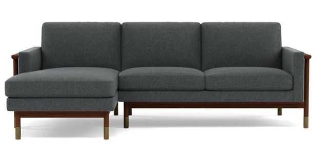 JASON WU Sectional Sofa with Left Chaise - Nimbus - Interior Define