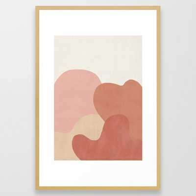 Strange Landscape Framed Art Print - Society6