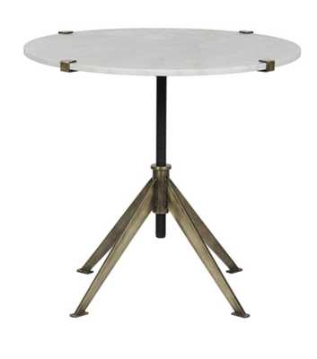 PIAF ACCENT TABLE, WHITE - Lulu and Georgia