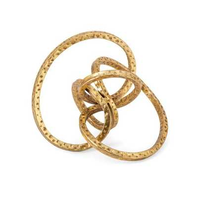 Carlise Metal Knot Decor - Mercer Collection