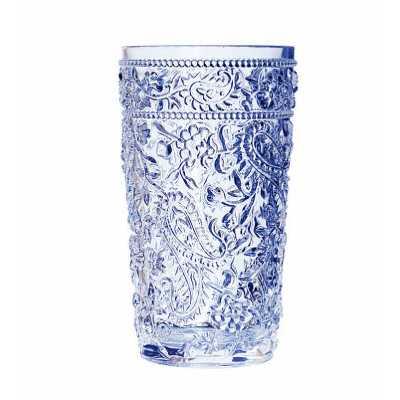 Calder Paisley 17 oz. Acrylic Drinking Glass- set of 4 - Wayfair