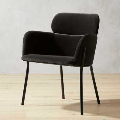 Azalea Grey Mink Chair - CB2