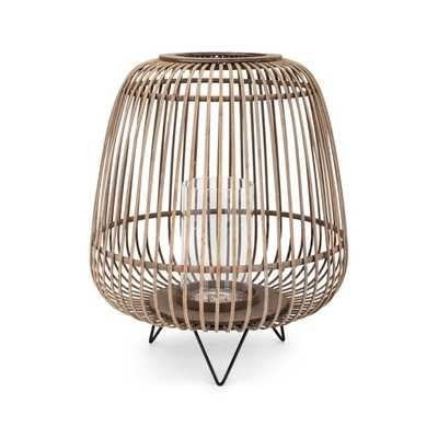 Heston Large Bamboo Lantern - Mercer Collection