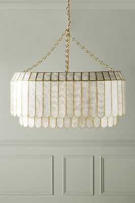 Madelyn Oval Faceted Chandelier - Anthropologie