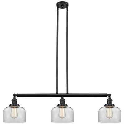 "Large Bell 40 1/2"" Wide Bronze Kitchen Island Light Pendant - Shades of Light"