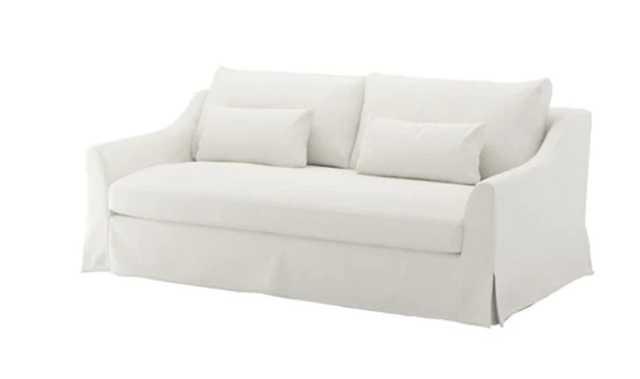FÄRLÖV Sofa, white - Ikea