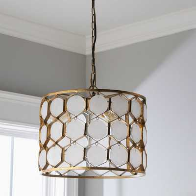 MARBLE HONEYCOMB PENDANT - Shades of Light