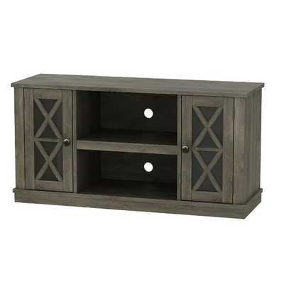 "Emelia TV Stand for TVs up to 55""  - no fireplace insert - Wayfair"