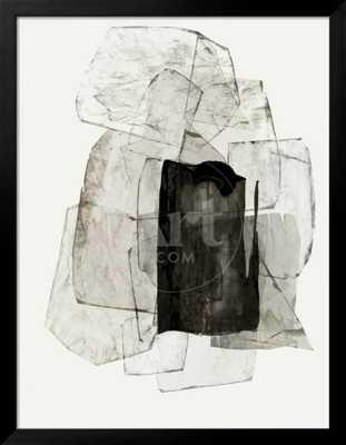 "Blotting Ink II_ The Frame: Gramercy Black_ Finished Size: 36"" x 46"" - art.com"