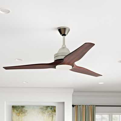"60"" Loft 3-Blade Ceiling Fan - Wayfair"
