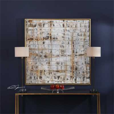 Egyptian Linen Hand Painted Canvas - Hudsonhill Foundry