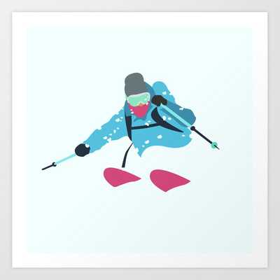 9 Shredding the GNAR Art Print - Society6