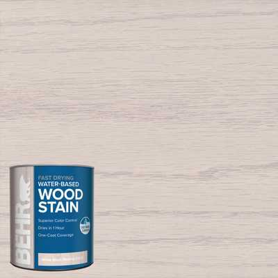 1 qt. #TIS-580 White Wash Pickling Transparent Water-Based Fast Drying Interior Wood Stain - Home Depot