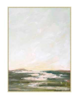 SPRING WAVES Framed Art - McGee & Co.