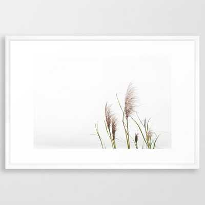 Pampas Grass Framed Art Print - Society6