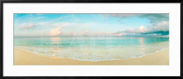 Waves on the Beach, Seven Mile Beach, Grand Cayman, Cayman Islands - art.com