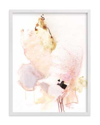 delicate 18x24 White Frame - Minted