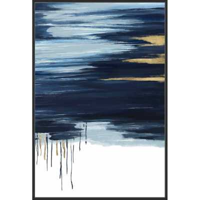Blue Pastel Sketch - Perigold