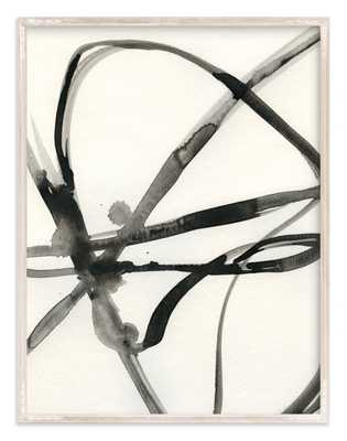"""Plant Cell 1, 40"""" x 54"""", whitewashed farmhouse frame - Minted"""