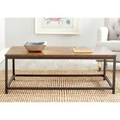 Alec Brown Coffee Table - Home Depot