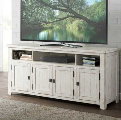 "Worden TV Stand for TVs up to 70"" - White - Wayfair"