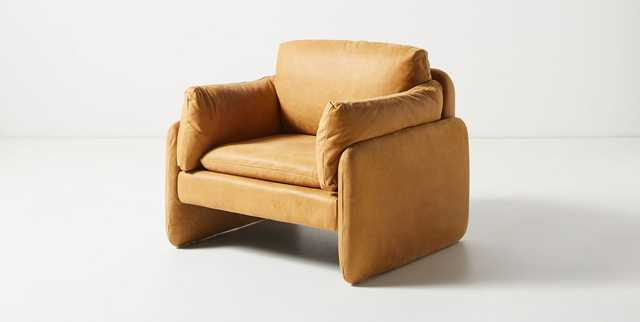 Gilmour Leather Chair - Anthropologie