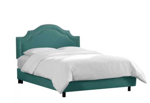 Deeanna Traditional Upholstered Panel Bed Queen - Wayfair