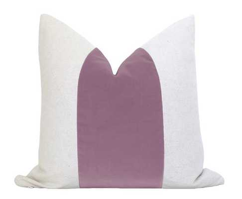 "Mezzo Pillow Cover - Amethyst- 14"" x 24"" - Willa Skye"