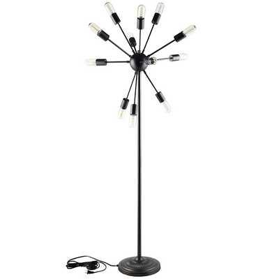 SPECTRUM FLOOR LAMP IN BLACK - Modway Furniture